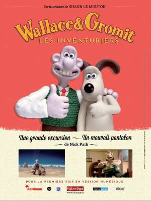 DVD Wallace & Gromit : Les Inventuriers