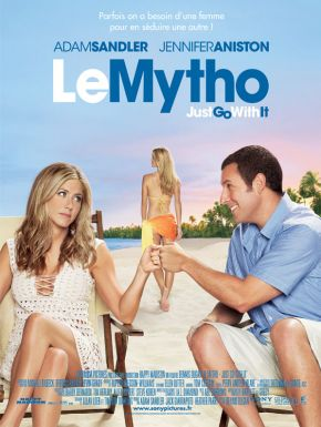 Le Mytho - Just Go With It DVD et Blu-Ray