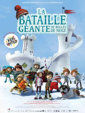 Jaquette dvd La Bataille Géante De Boules De Neige