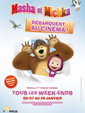 DVD Masha Et Michka Au Cinéma
