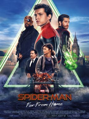 Spider-Man: Far From Home DVD et Blu-Ray