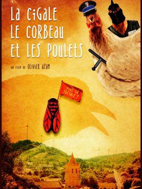 DVD La Cigale, Le Corbeau Et Les Poulets