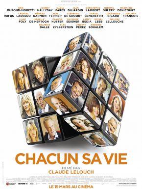 Chacun Sa Vie DVD et Blu-Ray