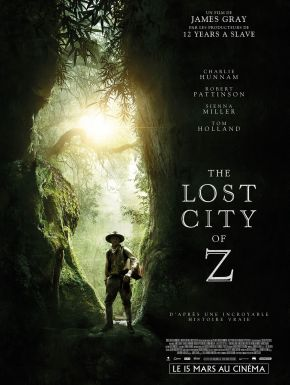 The Lost City Of Z DVD et Blu-Ray