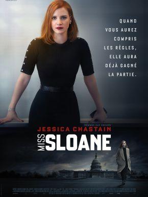 Jaquette dvd Miss Sloane