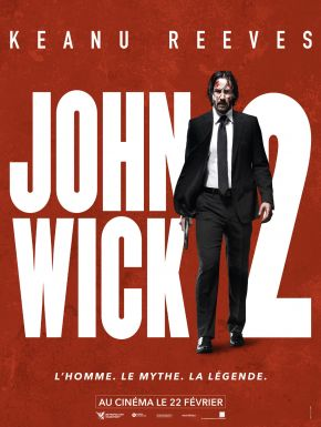 John Wick 2 en DVD et Blu-Ray