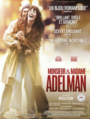 Jaquette dvd Monsieur & Madame Adelman