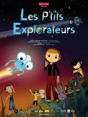 Jaquette dvd Les P'tits Explorateurs