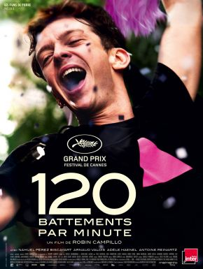 Jaquette dvd 120 Battements Par Minute