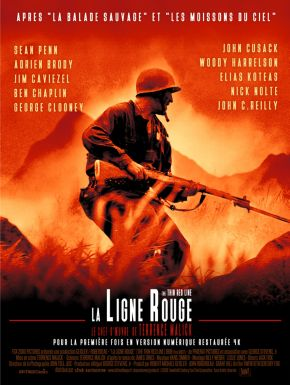 La Ligne Rouge DVD et Blu-Ray