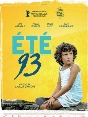 Jaquette dvd Eté 93