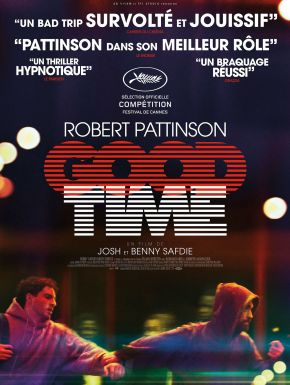 Jaquette dvd Good Time