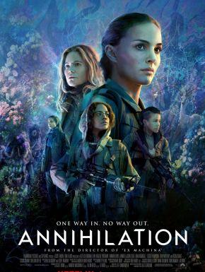 Annihilation DVD et Blu-Ray