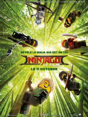Sortie DVD LEGO Ninjago Le Film