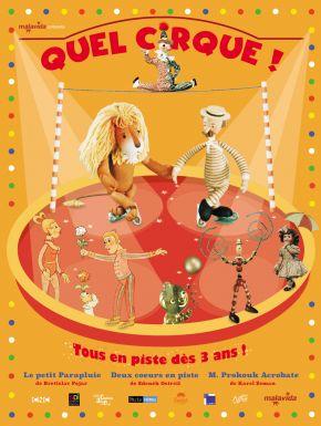 Jaquette dvd Quel Cirque !