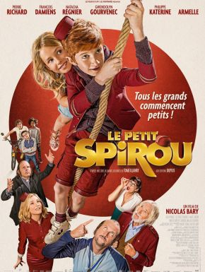 Sortie DVD Le Petit Spirou