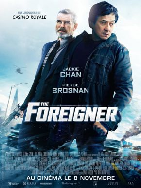 The Foreigner DVD et Blu-Ray