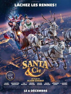 Jaquette dvd Santa & Cie