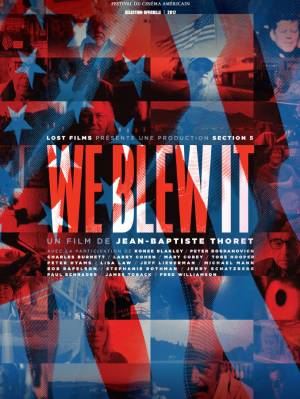 Jaquette dvd We Blew It