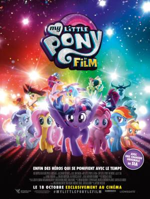 My Little Pony - Le Film en DVD et Blu-Ray