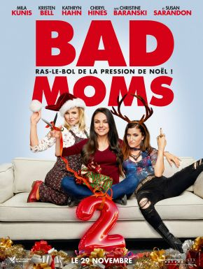 sortie dvd	  Bad Moms 2