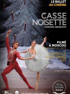 Casse-noisette (Bolchoï - Pathé Live) en DVD et Blu-Ray