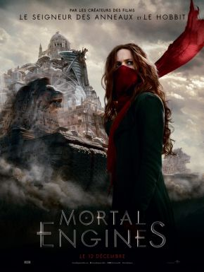 Jaquette dvd Mortal Engines