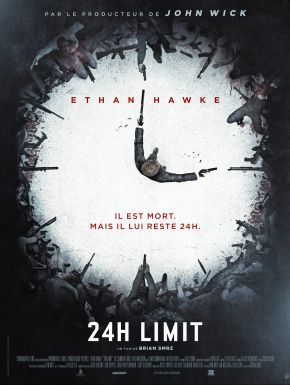 Jaquette dvd 24H Limit