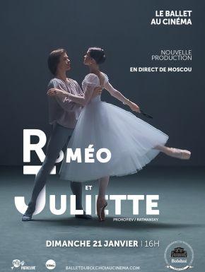 Roméo et Juliette (Bolchoï-Pathé Live) en DVD et Blu-Ray