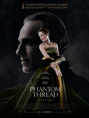 Phantom Thread DVD et Blu-Ray