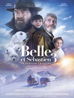 DVD Belle Et Sébastien 3 : Le Dernier Chapitre