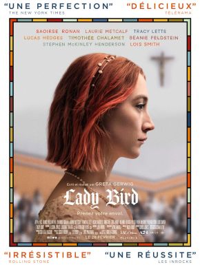 Jaquette dvd Lady Bird