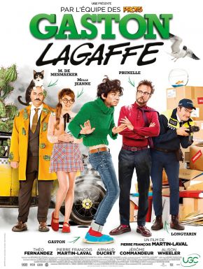 Gaston Lagaffe en DVD et Blu-Ray