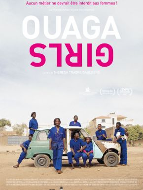 Jaquette dvd Ouaga Girls