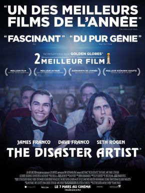 sortie dvd	  The Disaster Artist