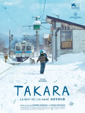 DVD Takara, La Nuit Où J'ai Nagé
