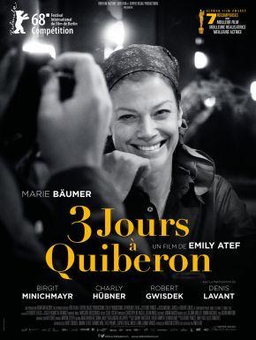Jaquette dvd 3 Jours à Quiberon