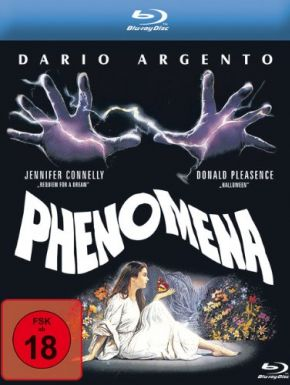 Phenomena en DVD et Blu-Ray