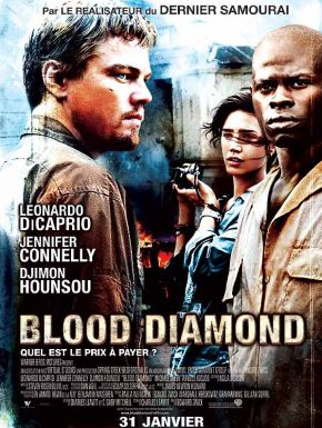 Sortie DVD Blood Diamond