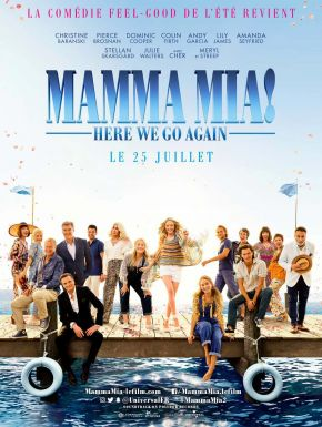 Mamma Mia! Here We Go Again en DVD et Blu-Ray