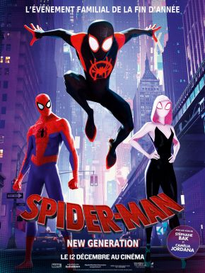 Jaquette dvd Spider-Man : New Generation