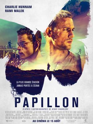 Papillon DVD et Blu-Ray