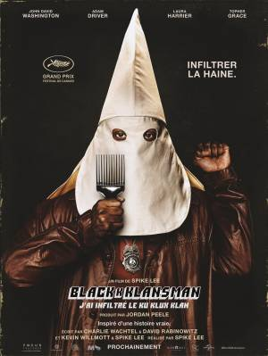 Sortie DVD BlacKkKlansman : J'ai Infiltré Le Ku Klux Klan
