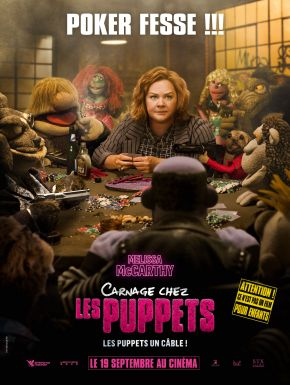 DVD Carnage Chez Les Puppets