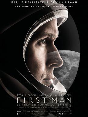 Jaquette dvd First Man: Le Premier Homme Sur La Lune