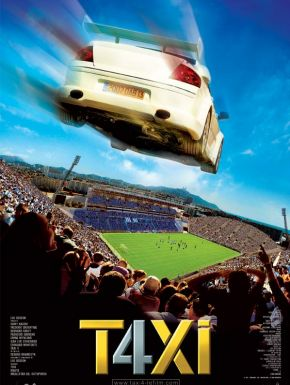 Sortie DVD Taxi 4