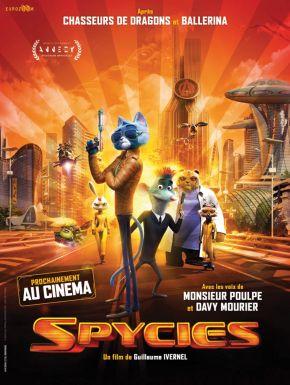 Jaquette dvd Spycies