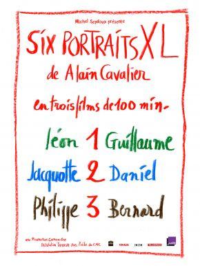 Six Portraits XL : 3 Philippe Et Bernard DVD et Blu-Ray