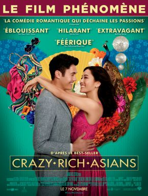Crazy Rich Asians DVD et Blu-Ray