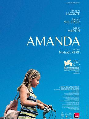 Jaquette dvd Amanda